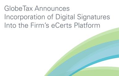 globe tax announces