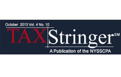 tax stringer