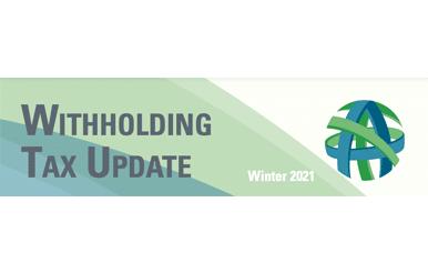 tax update winter 2021
