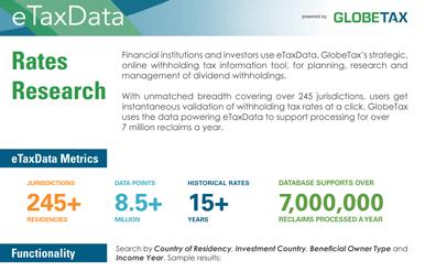 etaxdata rate research