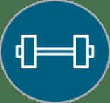 corporate gym membership icon