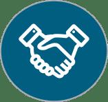corporate volunteer initiatives icon